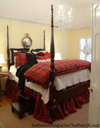 Cozy Plaid Tartan Bedding For The Winter Bed