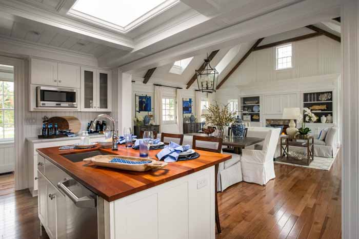 open floor plan home view standing kitchen kitchen house plans beautiful large gourmet kitchen house plans large
