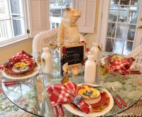 Farm Country Breakfast Table Setting