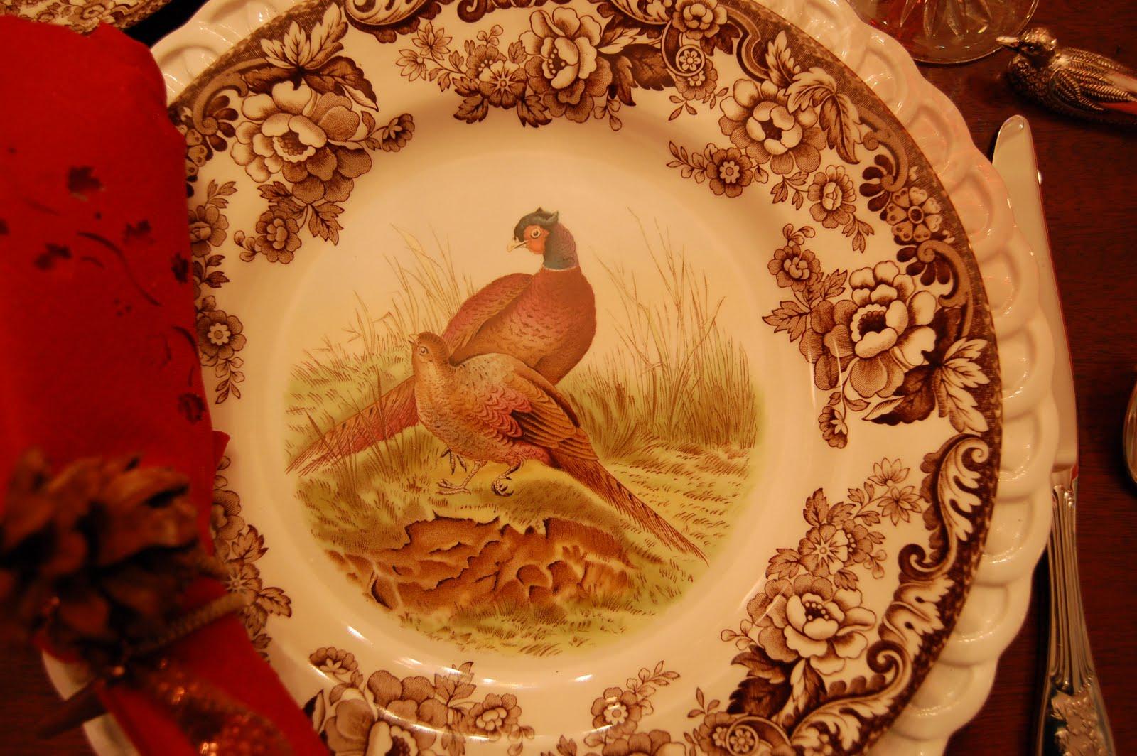 Antique Thanksgiving Turkey Dinnerware ... & Thanksgiving Dinnerware Tableware - Castrophotos