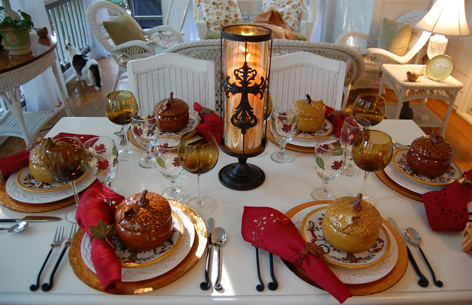 A Tablescape To Celebrate Fall Between Naps On The Porch