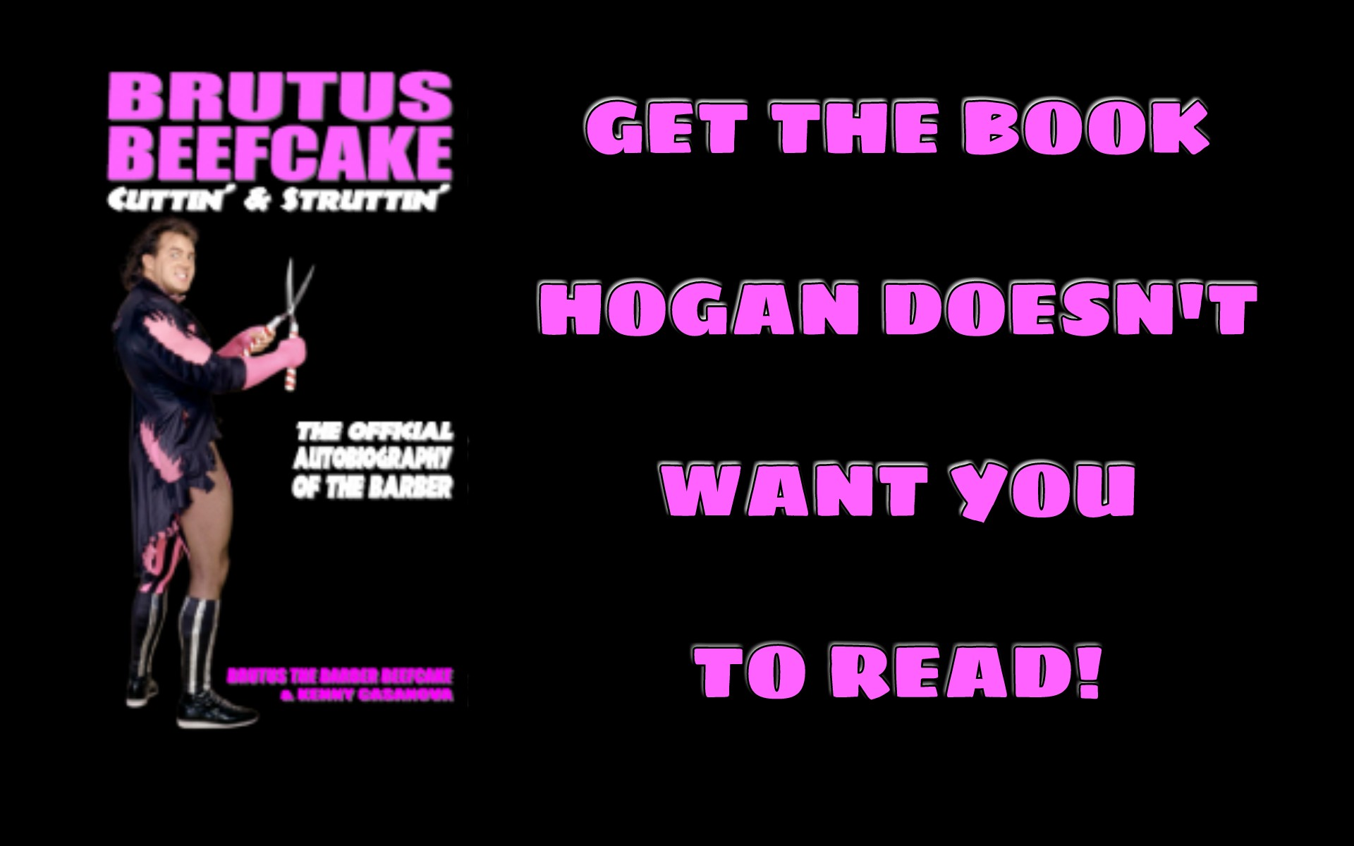 Hulk Hogan Twitter Get The Book Hogan Doesn T Want You To Read Betwrestling