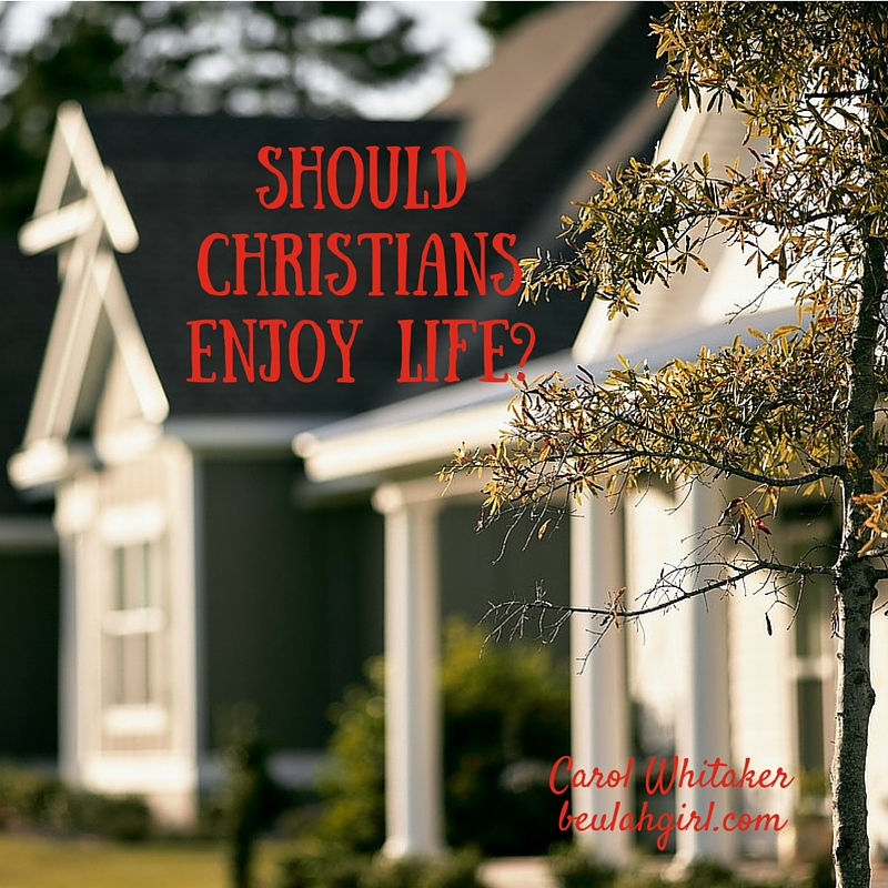 Should Christians Enjoy Life_