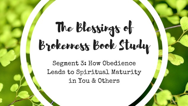 THE BLESSINGS OF BROKENNESS (3)