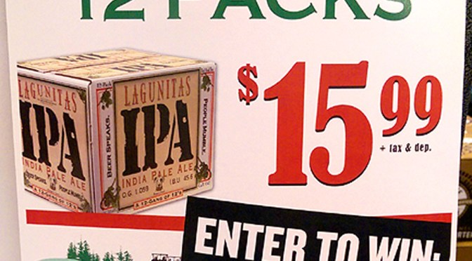 Lagunitas IPA On Sale & Win An Overnight Stay For Two At Okemo