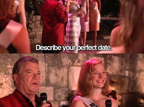 April 25th – A Perfect Date…