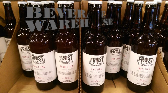 Frost Beer Works | Double IPA | Rye IPA | Research Series