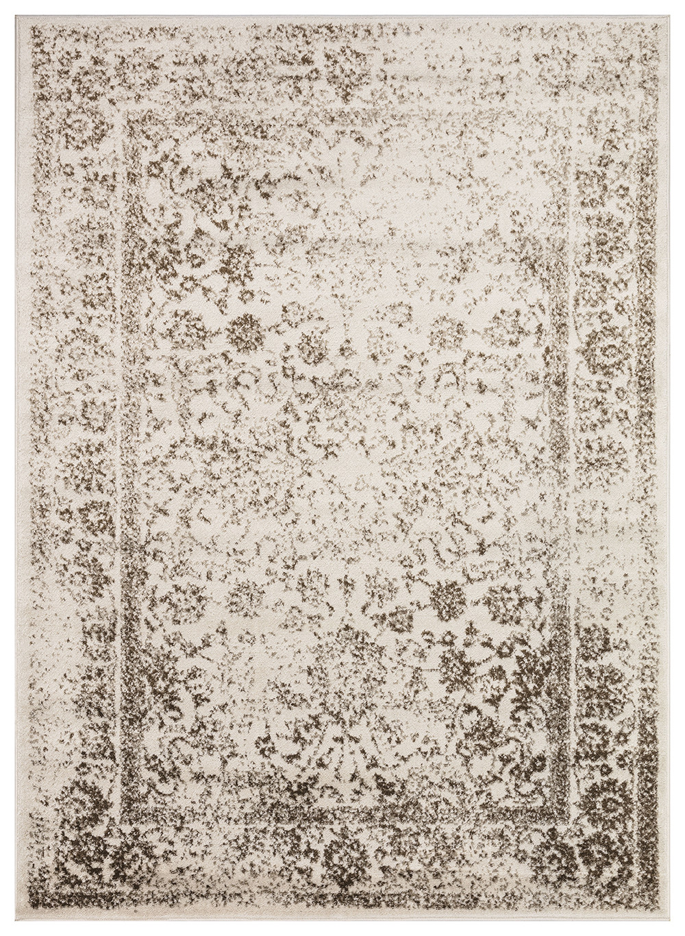 Vintage Metallregal Regal Collection Vintage Oriental Medallion Area Rug - 172 Brown & Dark Beige – Beverly Rug