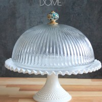 DIY: Cake Stand Dome