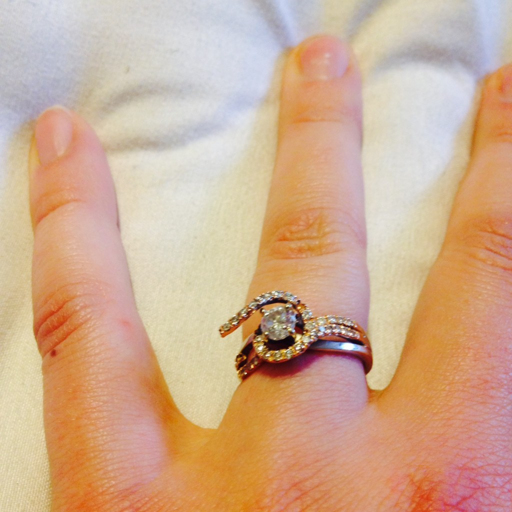 what does it mean when your engagement ring breaks before the wedding kays jewelry wedding rings What Does It Mean When Your Engagement Ring Breaks Before the Wedding broken kay jewelers