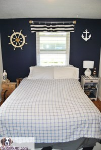Nautical Bedroom Home Decor - BexBernard