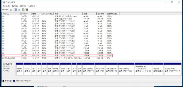 謎の5.7GB