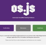 JavaScriptでOSが軽快に動く!OS.js
