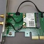 Intel Dual Band Wireless-AC 7260 for Desktop導入、Wifiつながらないので必殺技でつなげられない