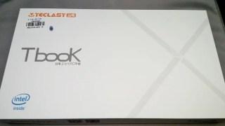 【GearBestから】レビューや情報でTeclast Tbook 10 未使用品 お譲りします