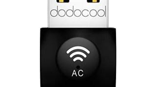 【dodocool】Wifiドングル レビュー IEEE802.11 ac 付属ドライバ入れたら対応