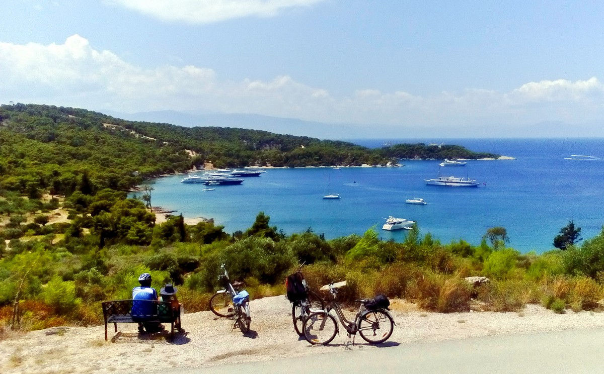 Cycling Spetses Island