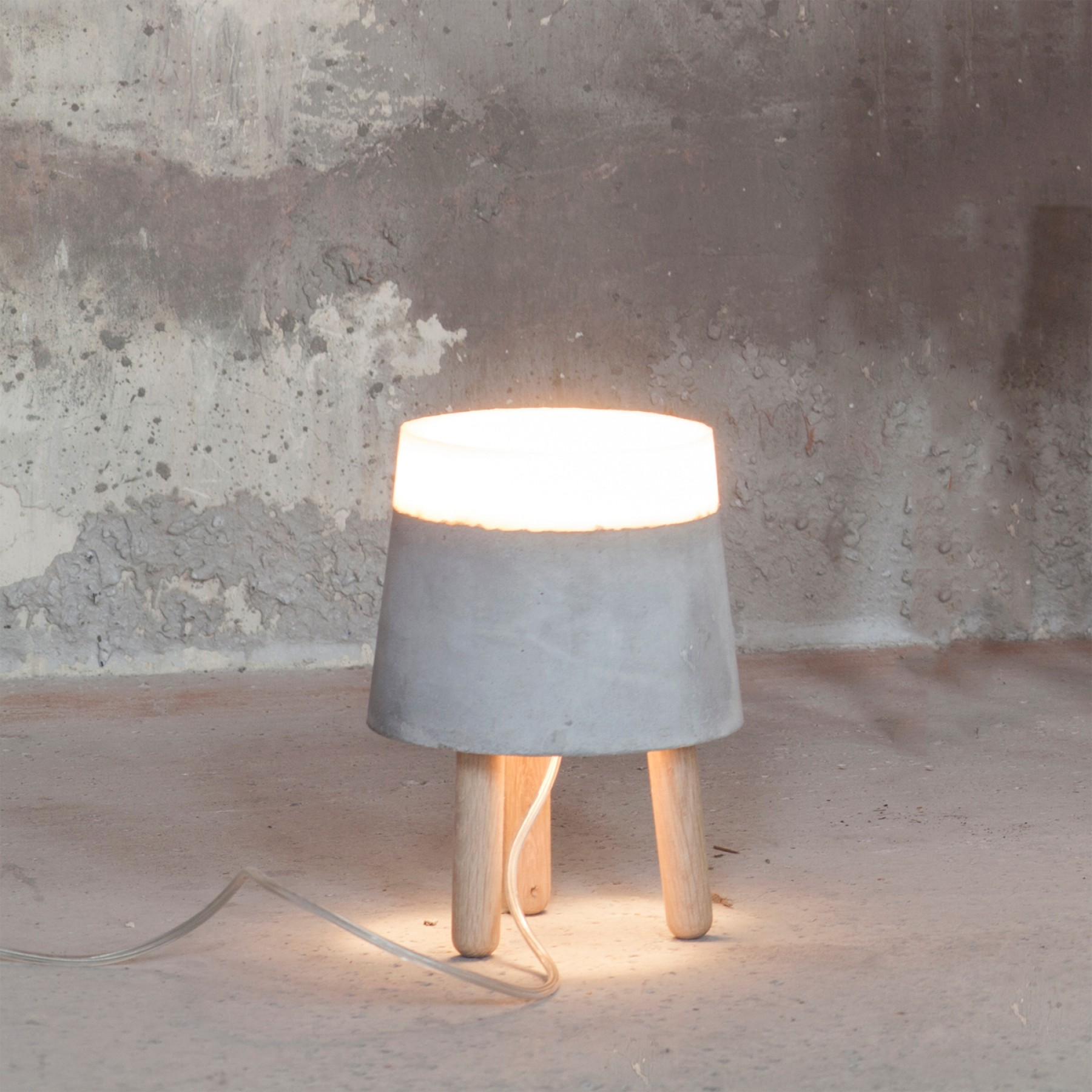Beton Lamp Beton Small Concrete Table Lamp - Beyond Furniture