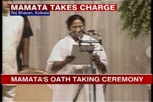 Didi Sworn in as New Bengal CM