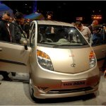 File photo of Tata Nano car at an auto expo