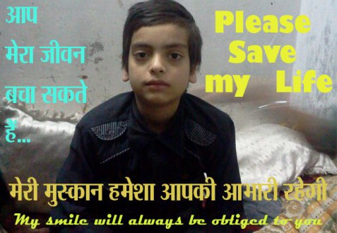 You Can Save Life of This Little Boy