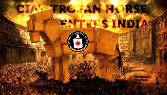 CIA's Trojan Horse enters the Heart of India