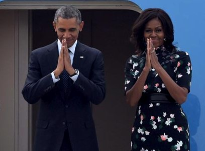 Obama Namaste will it help build Equal and strong India