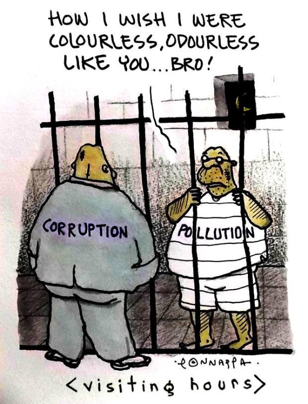 Corruption Vs Pollution