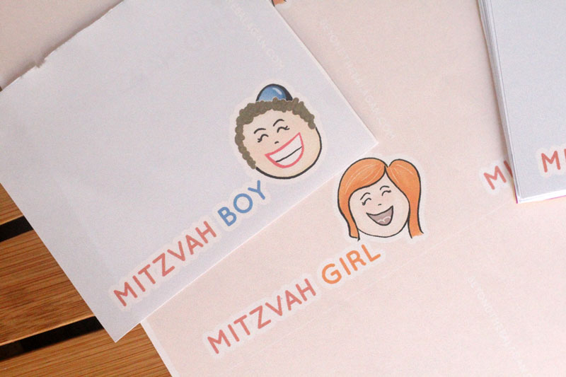 Free Printable Mitzvah Notes - Beyond the Balagan