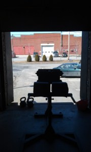 Nice Outside Gym March 2012
