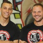 Joe and his mentor, Zach Even-esh