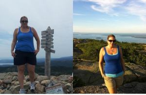 Kate V, one of my clients who used steady, small improvements to success.