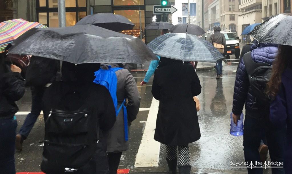 San Francisco sous la pluie, ça ressemble à ça