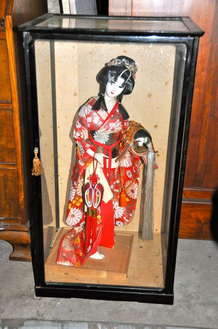 China Doll In Glass Case Gorgeous Beyond Tiffany