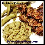 Teri Beef Kabob Recipe with Cave Tools' Shish Kabob Barbecue Skewers  #Foodie #CaveTools #Review