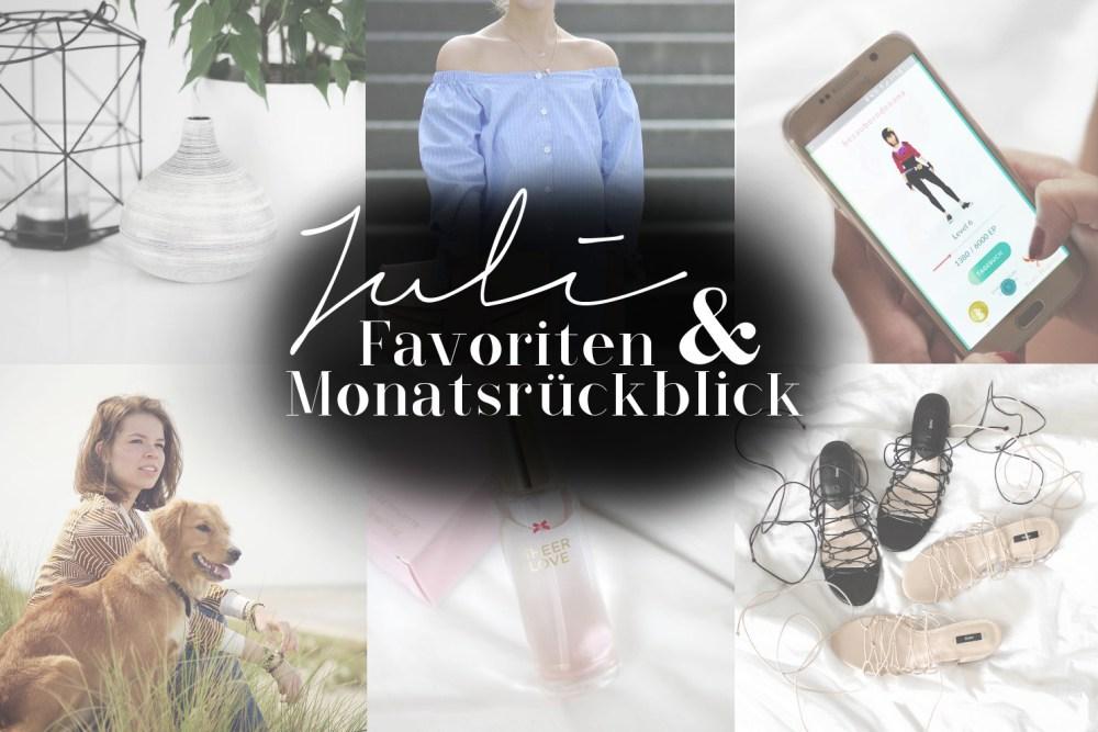 Bezaubernde Nana, bezauberndenana.de, Monatsrückblick, Favoriten Juli 2016