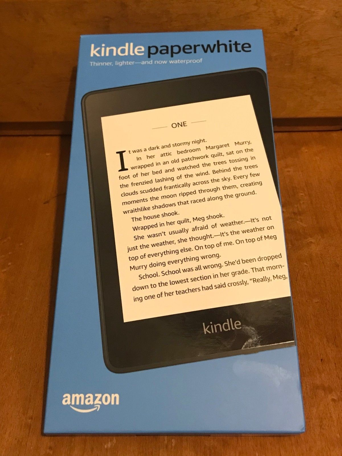 Amazon Kindle Details About Amazon Kindle Paperwhite 10th Generation 8gb Wi Fi W Special Offers Brand New