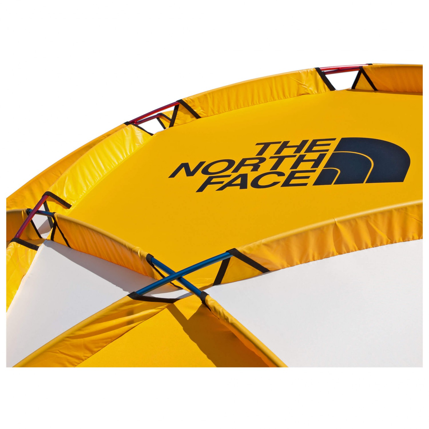 2 Meter The North Face 2 Meter Dome Gruppenzelt Gold White Black