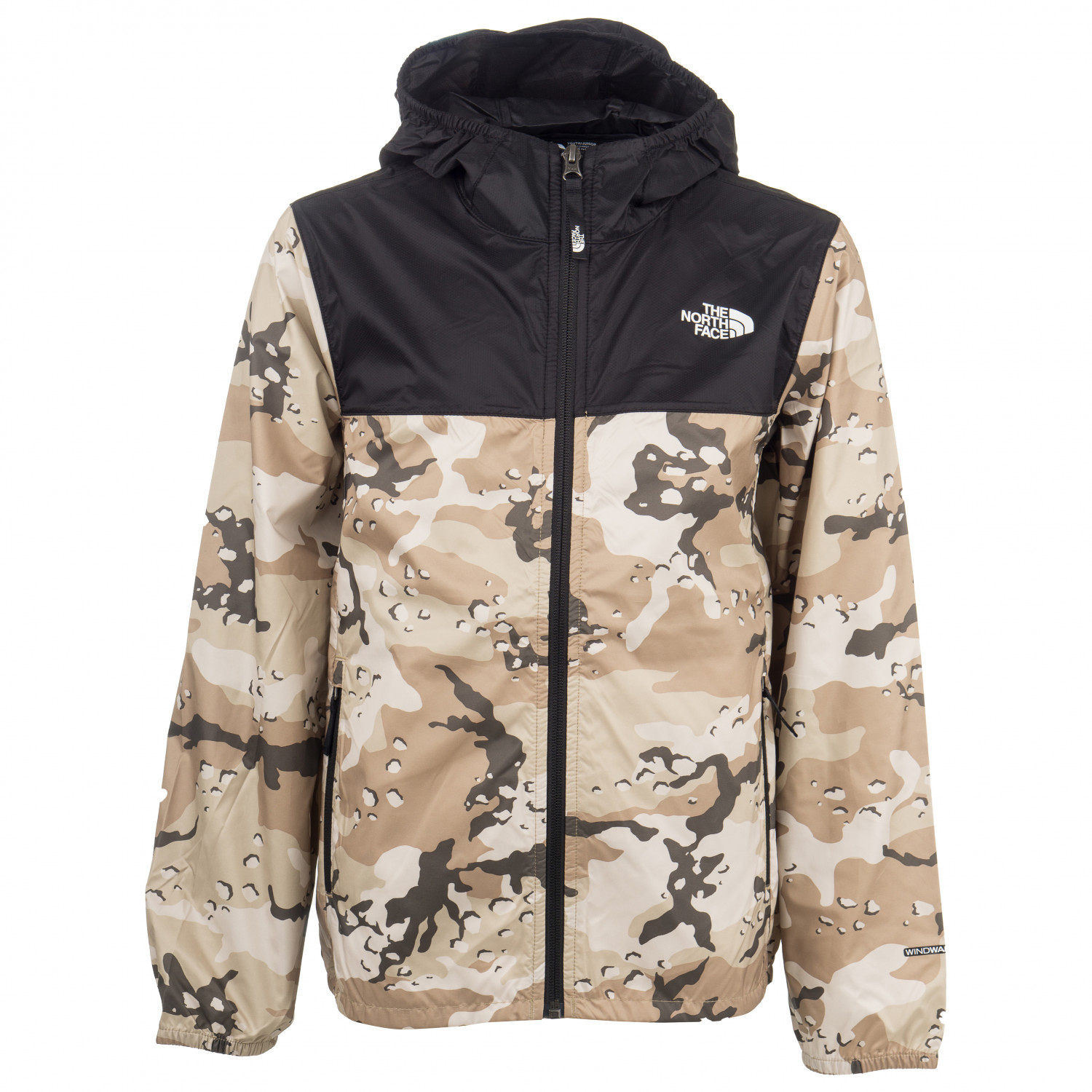 Coupe Vent Enfant The North Face Youth Reactor Wind Jacket Coupe Vent New Taupe Green Desert Youth Print M