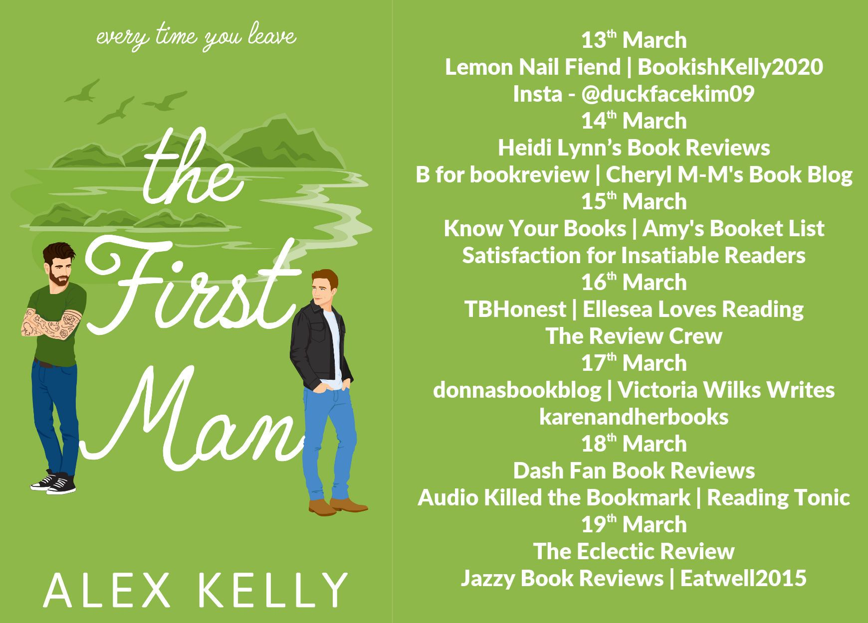 Kelly Alex The First Man B For Bookreview