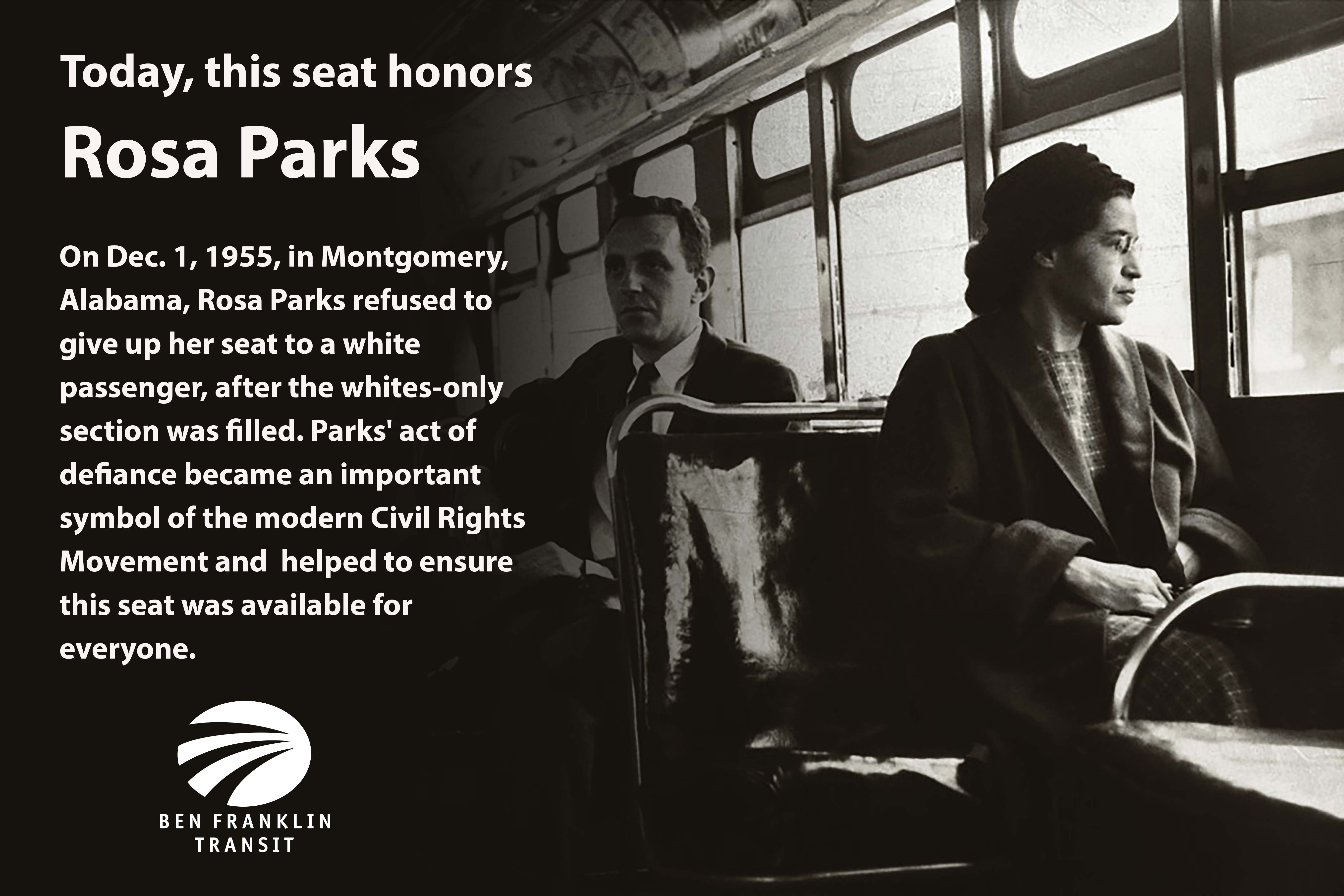 In Rosa Rosa Parks Day It All Started On A Bus Rider Alerts News