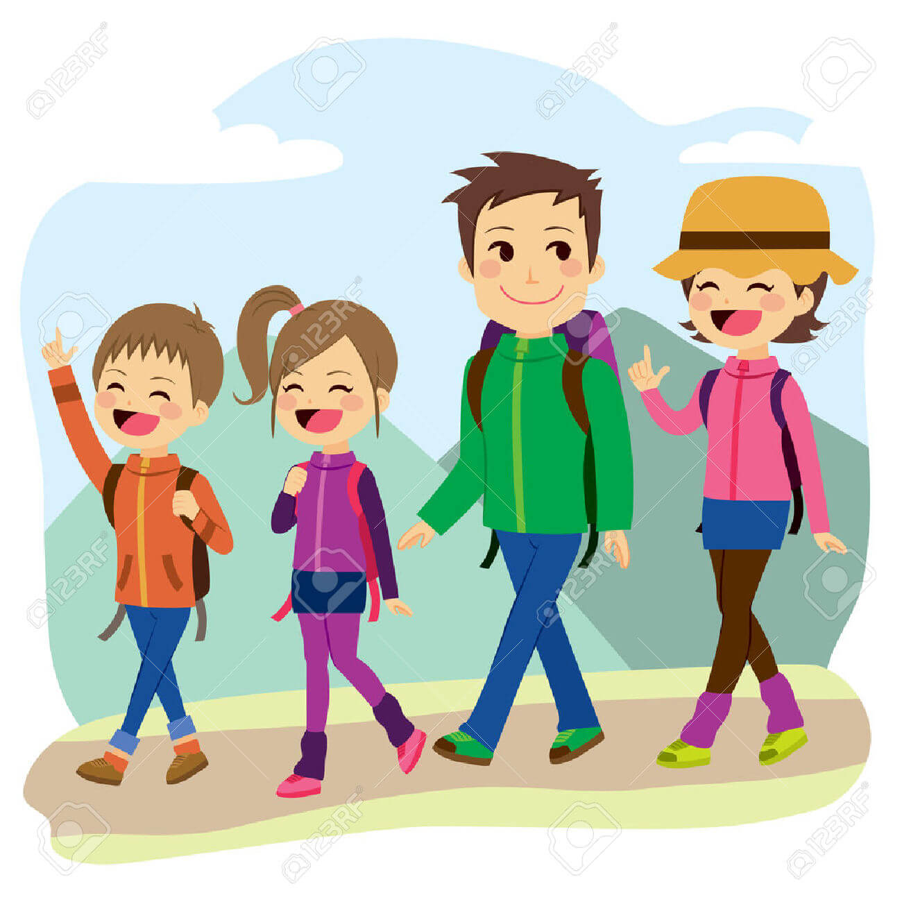 Happy Family Life Clip Art Changes To School Year Vacation Days Boys And Girls Club