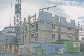 Baufortschritt der Kindergrippe Nellmersbach