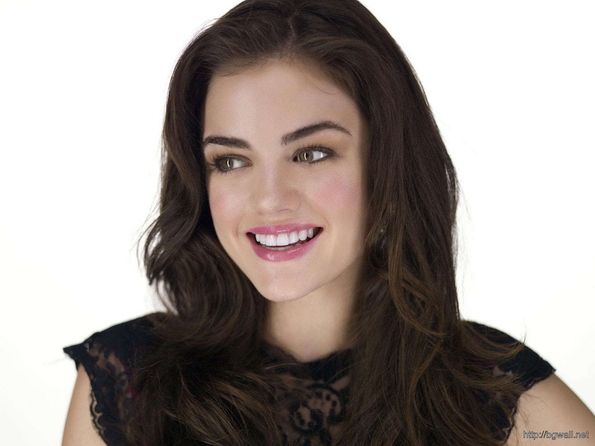 Alizee Wallpaper Hd Lucy Hale Precious Smile Background Wallpaper Hd