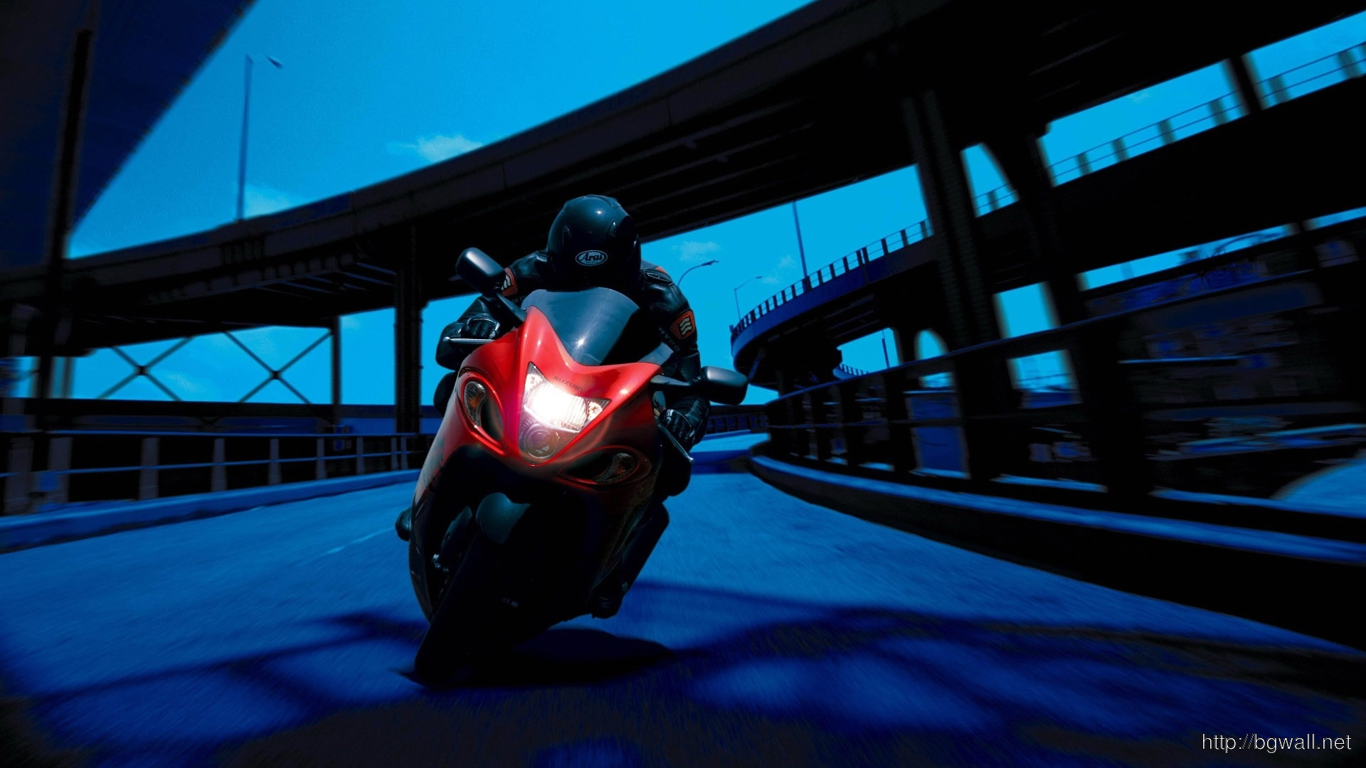 Car And Bike Wallpaper Download View Of Night Bike Ride Wallpaper Wallpapers Background