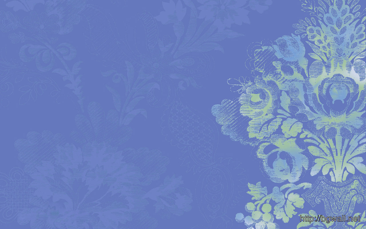 3d Hd Wallpapers Flowers Rose Calming Wallpaper In Serene Blue With Stylized Floral