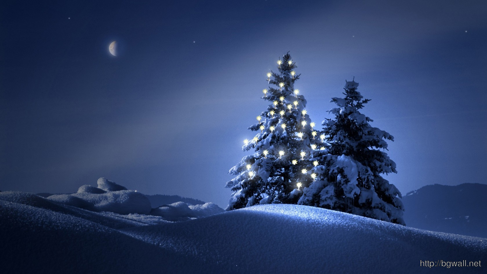 Video Game Car Wallpapers Christmas Trees In The Snow Wallpaper 4058 Background