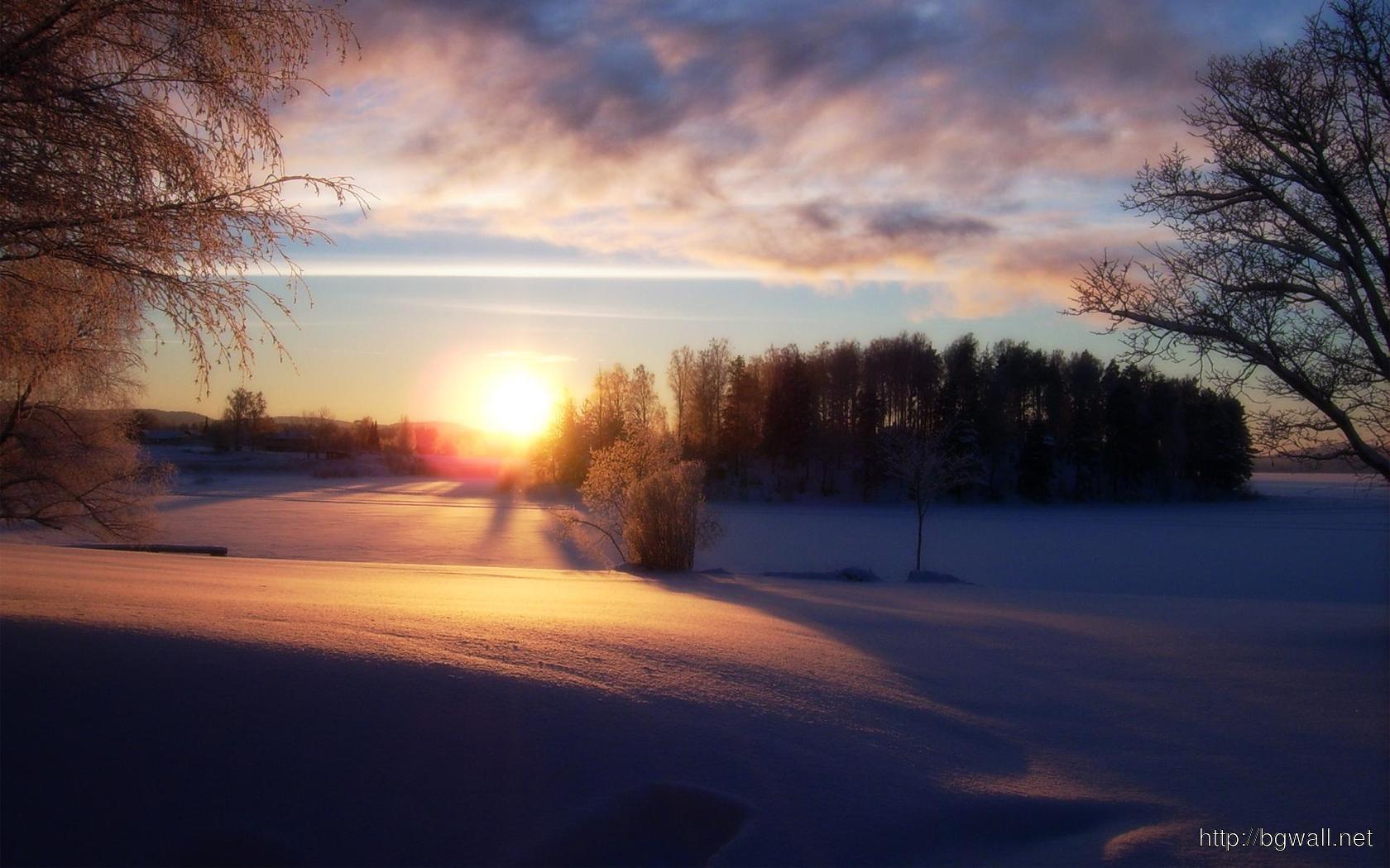 Storm City Wallpaper Hd 3d Sunset On Snowy Field Wallpaper 1188 Background Wallpaper Hd