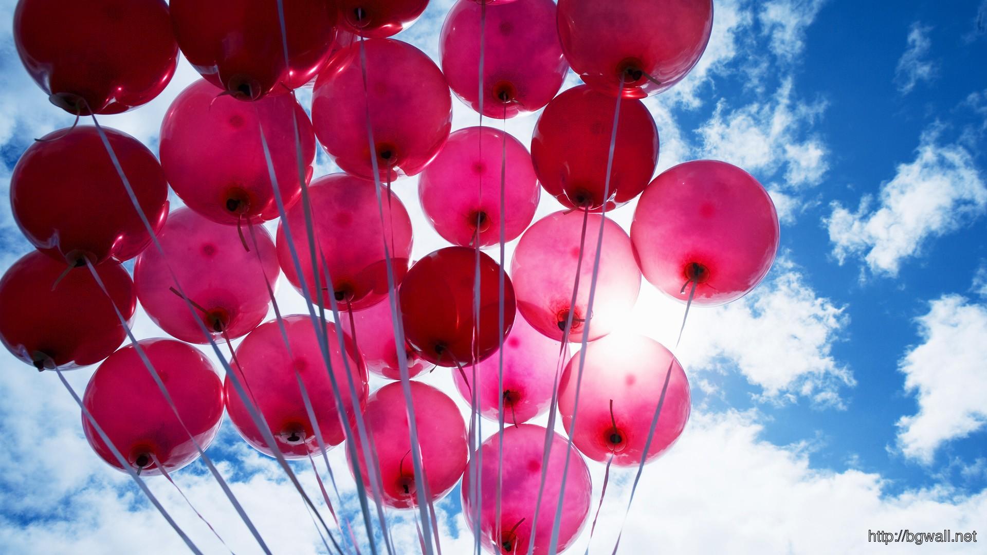 Pink Car Wallpaper Iphone Pink Balloons Hd Wallpaper Background Wallpaper Hd