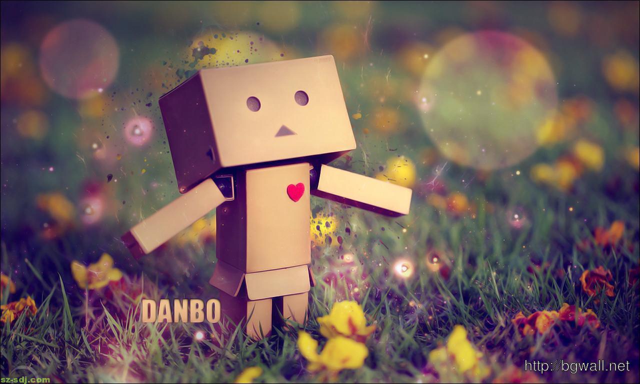 Cute Amazon Box Robot Wallpaper Beautiful Danbo Wallpaper Background Background Wallpaper Hd